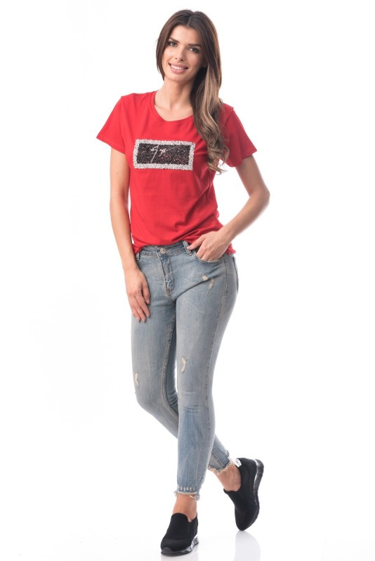 Jeans Dama 7011 Gri (G16) Adrom