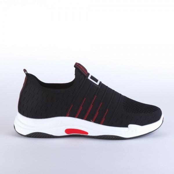 Pantofi Sport Barbati YD8301 Black Fashion Shoes