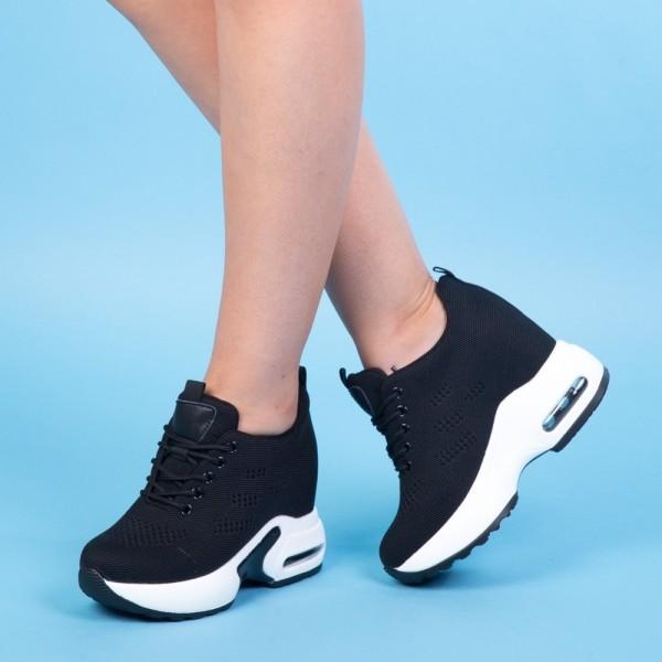 Pantofi Sport cu Platforma SJN180 Black Mei
