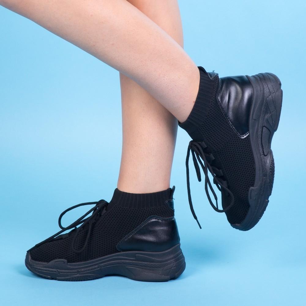 Pantofi Sport Dama KH15 Black Mei