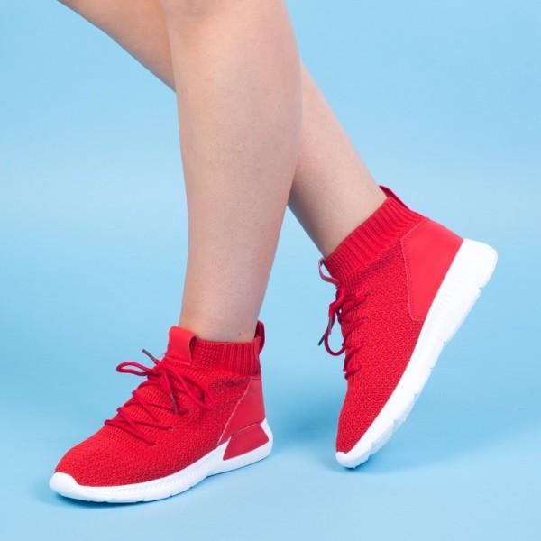 Pantofi Sport Dama HMM11 Red Mei