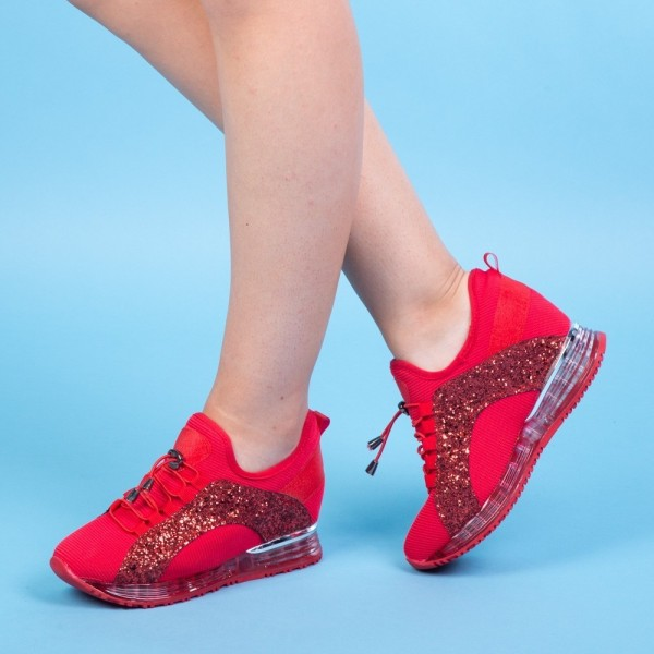 Pantofi Sport Dama SZ138 Red Mei