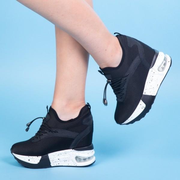 Pantofi Sport cu Platforma SZ130 Black Mei