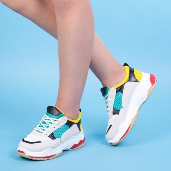 Pantofi Sport Dama KH21 Yellow Mei
