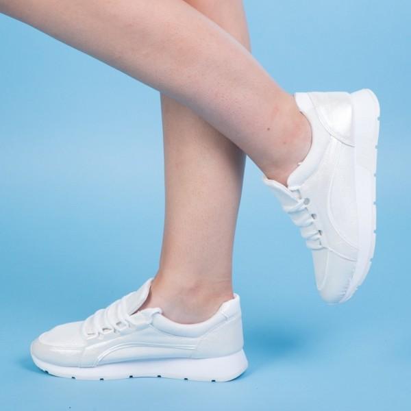 Pantofi Sport Dama KH18 White Mei