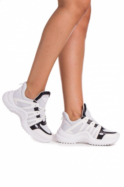 Pantofi Sport Dama GB13 White  Mei