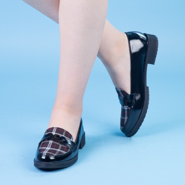 Pantofi Casual Dama YT17 Black Mei