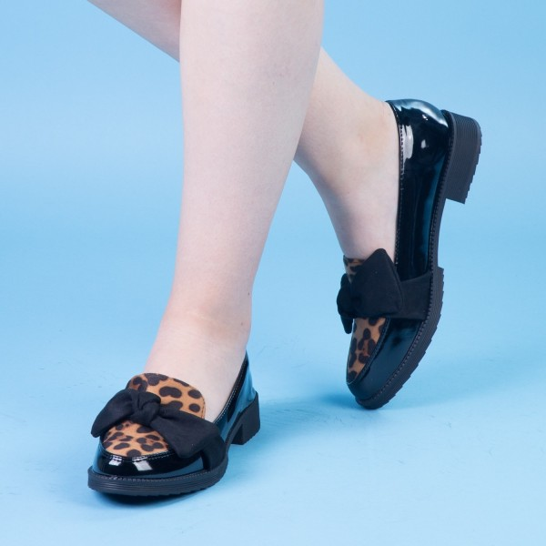 Pantofi Casual Dama YT16 Black Mei