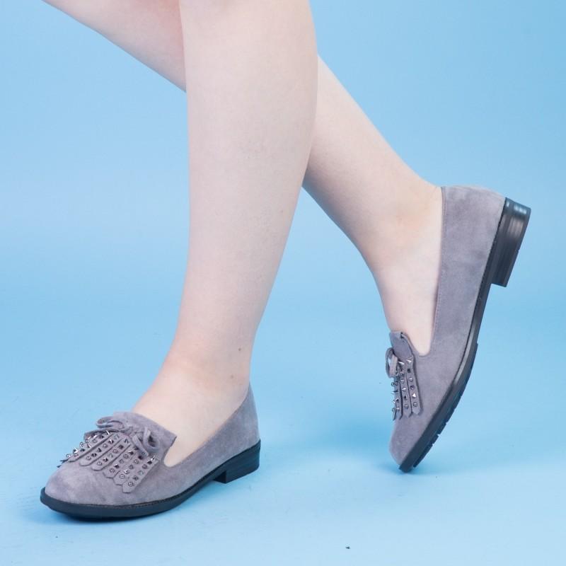 Pantofi Casual Dama XD102 Grey Mei