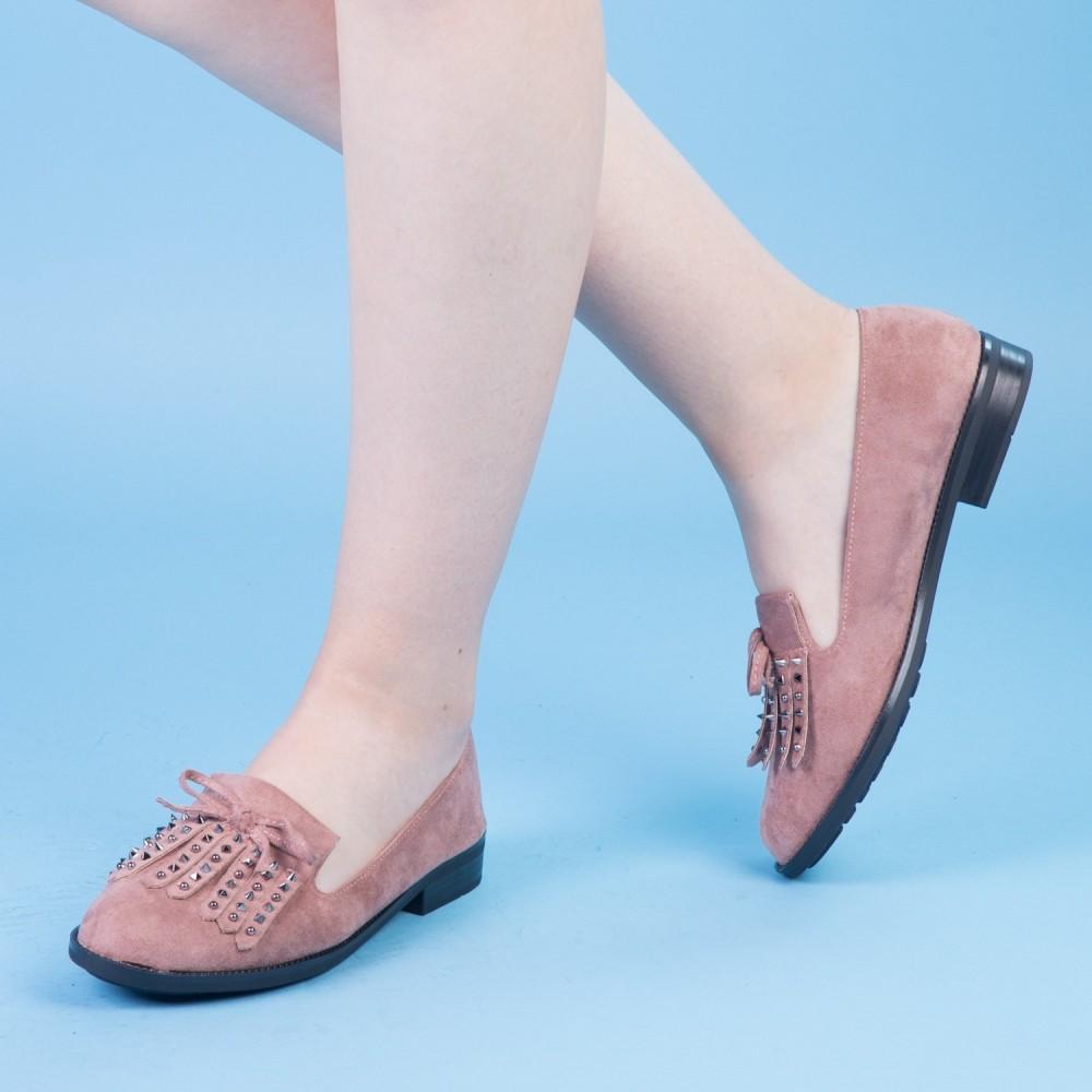 Pantofi Casual Dama XD102 Pink Mei