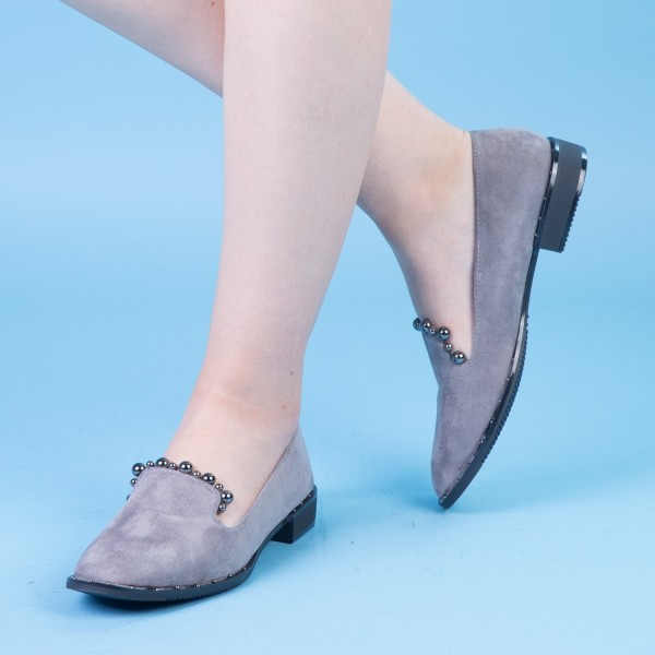 Pantofi Casual Dama XD101 Grey Mei