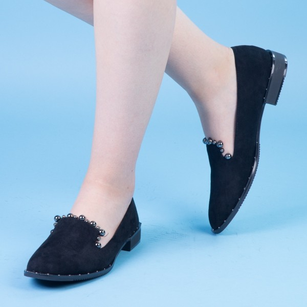 Pantofi Casual Dama XD101 Black Mei