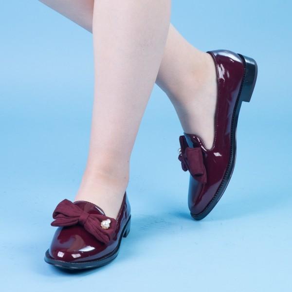 Pantofi Casual Dama XD100 Winered Mei