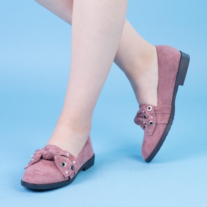 Pantofi Casual Dama WH13 Pink Mei