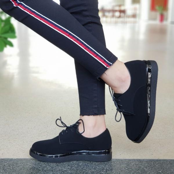 Pantofi Casual Dama GY3A Black Mei