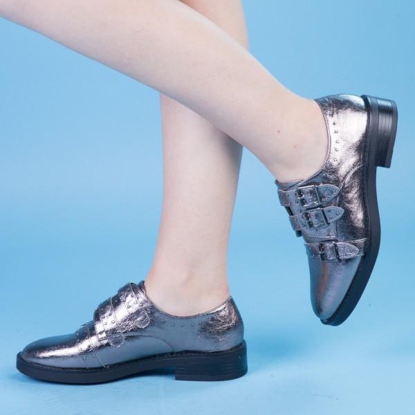 Pantofi Casual Dama FD21 Guncolor Mei