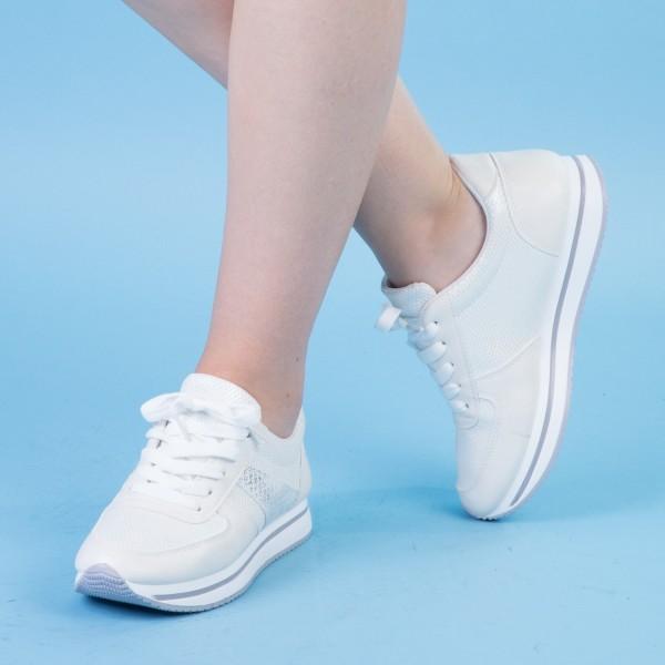 Pantofi Sport Dama GB16 White Mei