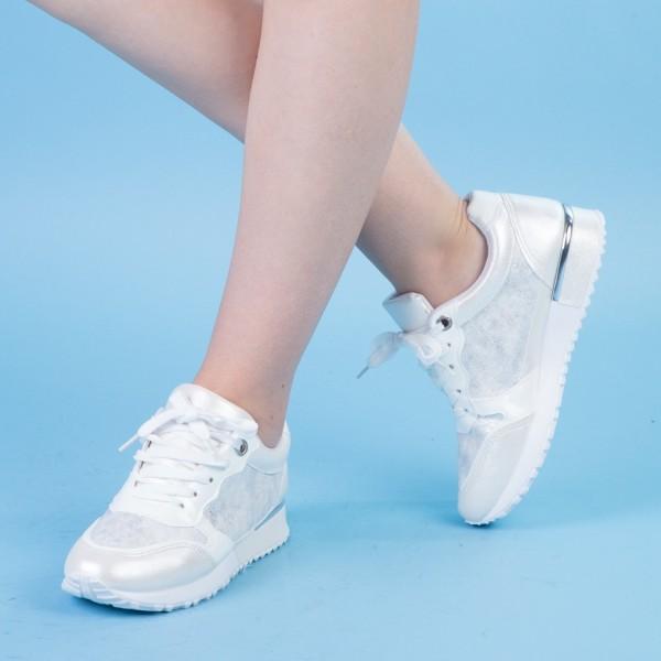 Pantofi Sport Dama AN58 White Mei
