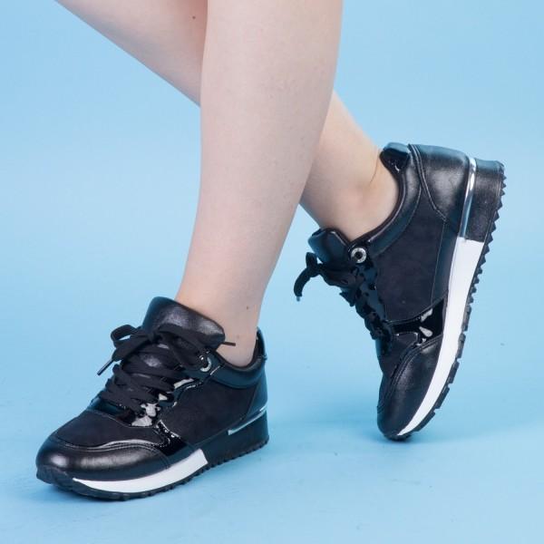 Pantofi Sport Dama AN58 Black Mei