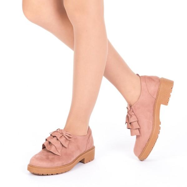 Pantofi Casual LE19 Pink Mei