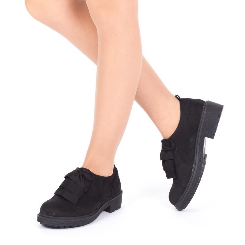 Pantofi Casual LE19 Black Mei