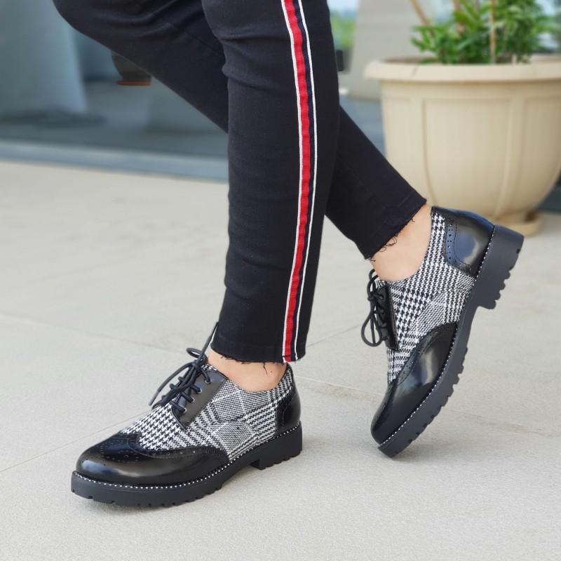 Pantofi Casual Dama WT51A Black Mei