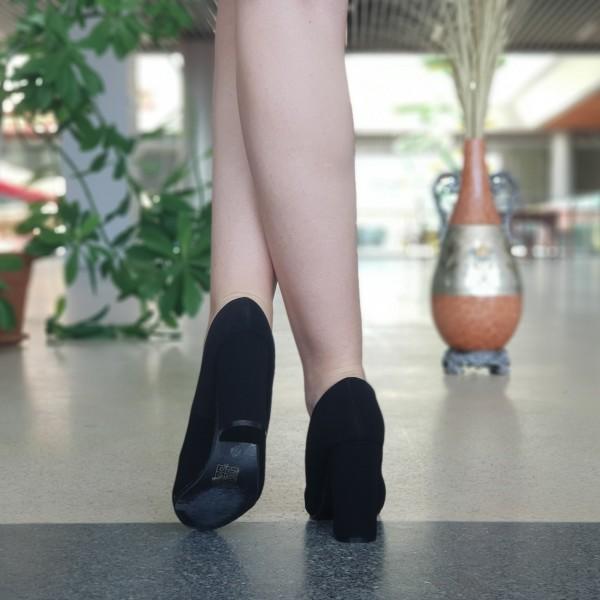 Pantofi cu Toc XKK130A Black Mei