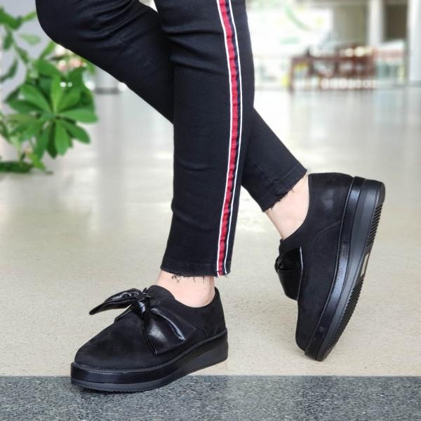 Pantofi Casual Dama YT09 Black Mei