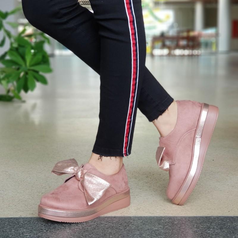 Pantofi Casual Dama YT09 Pink Mei