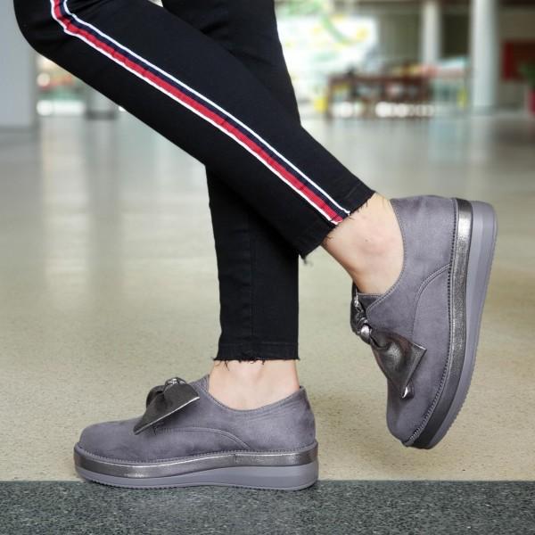 Pantofi Casual Dama YT09 Grey Mei