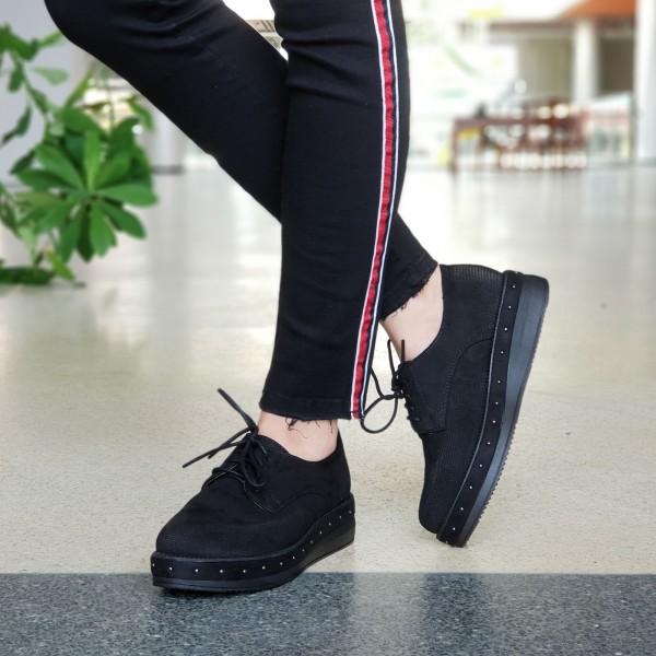 Pantofi Casual Dama YT10 Black Mei