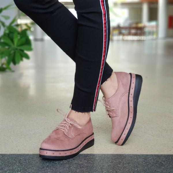 Pantofi Casual Dama YT10 Pink Mei