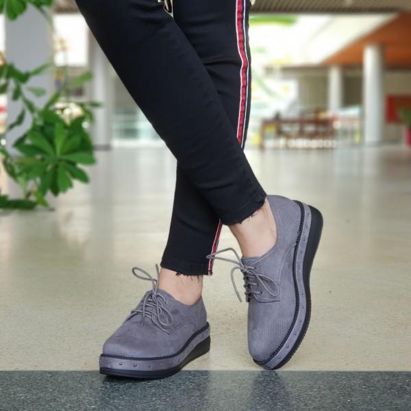 Pantofi Casual Dama YT10 Grey Mei
