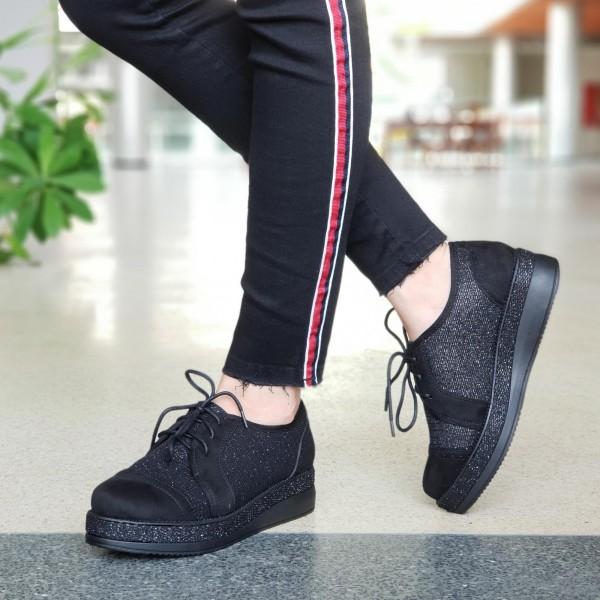 Pantofi Casual Dama YT11A Black Mei
