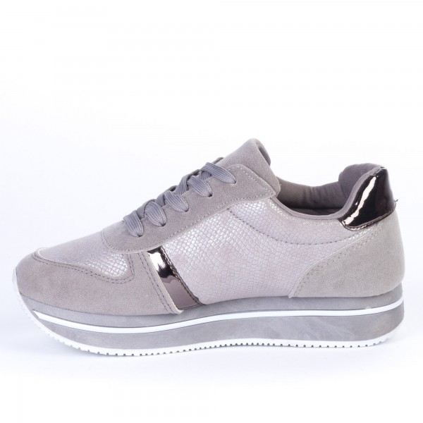 Pantofi Sport Dama ZF2 Grey Print