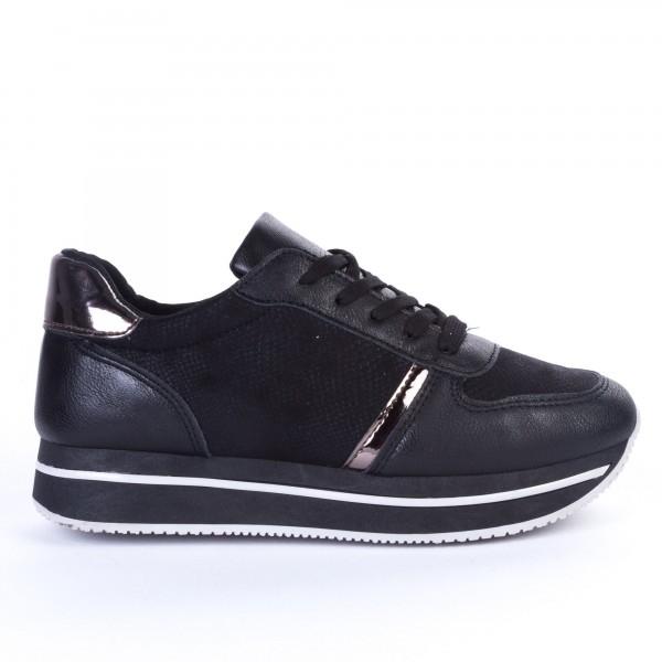 Pantofi Sport Dama ZF2 Black Print