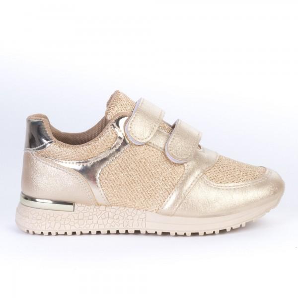 Pantofi Sport Copii JN17 Beige Print
