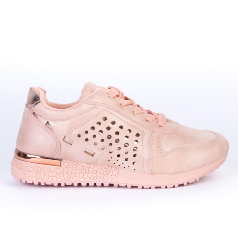 Pantofi Sport Copii JN16 Pink Print