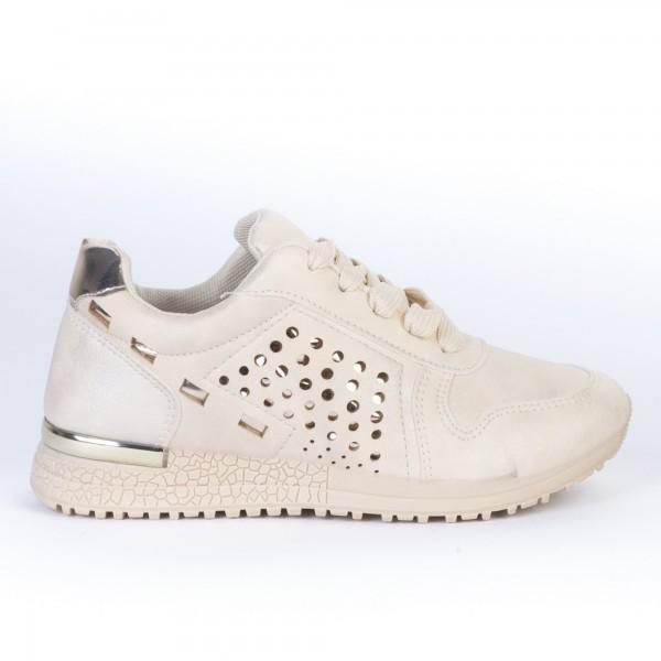 Pantofi Sport Copii JN16 Beige Print