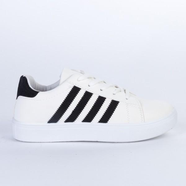 Pantofi Sport Dama F01 White-Black Etalon