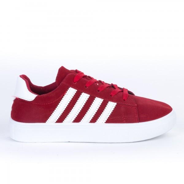 Pantofi Sport Dama F01 Red-White Etalon