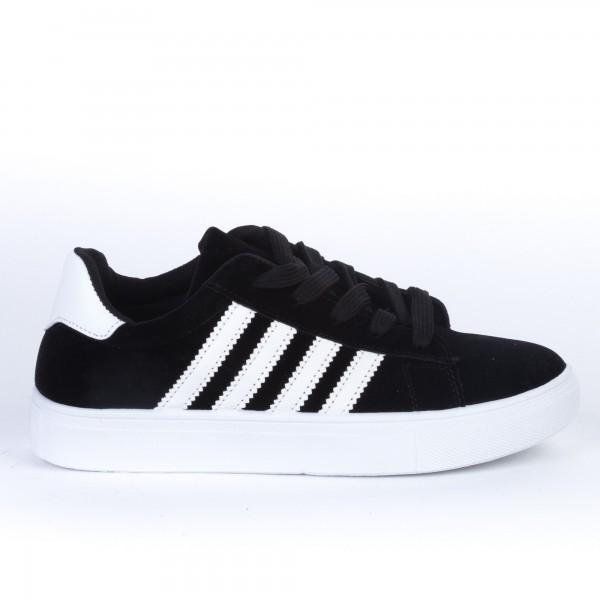 Pantofi Sport Dama F01 Black-White Etalon