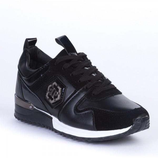 Pantofi Sport Dama BF37 Black Alogo