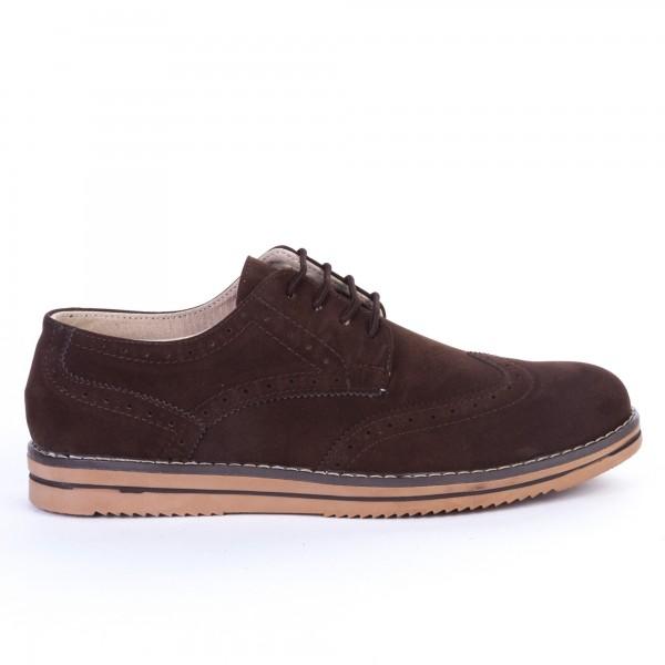 Pantofi Casual Barbati 670 Brown Dragon