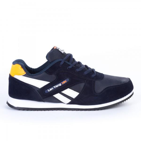 Pantofi Sport Barbati 666 Navy Best Fashion No1