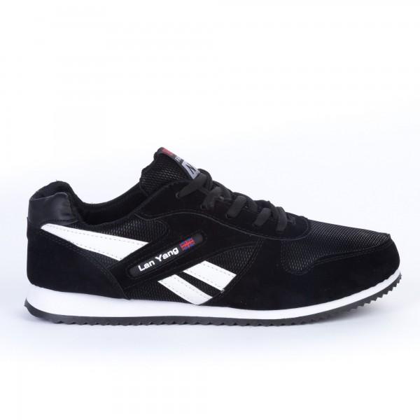 Pantofi Sport Barbati 666 Black Best Fashion No1