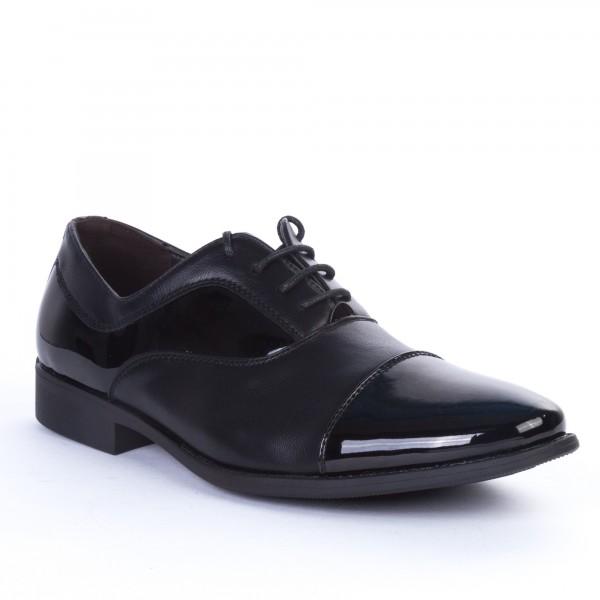 Pantofi Barbati 519 Black Renda