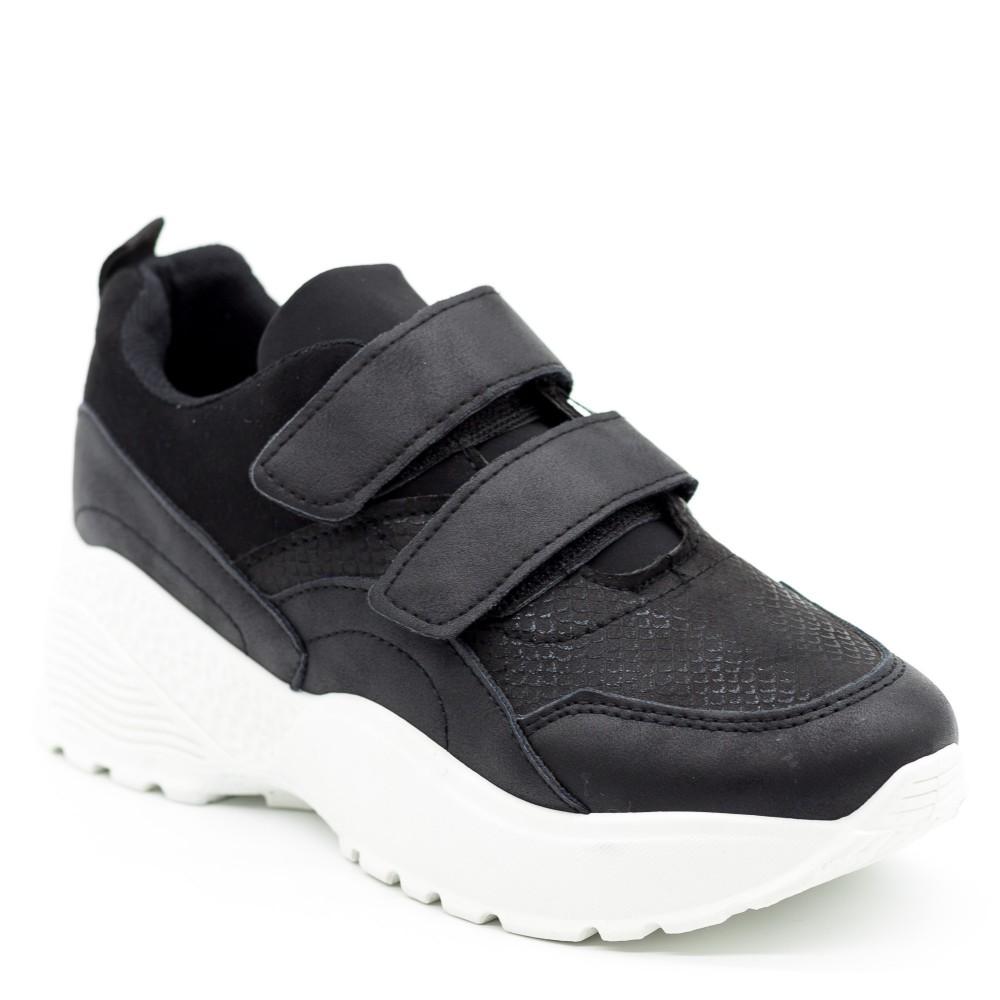 Pantofi Sport cu Platforma X336 Black Se7en