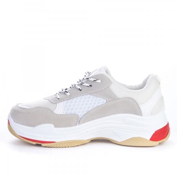 Pantofi Sport Dama W20 Grey-White Belarewang