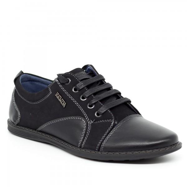 Pantofi Casual Baieti T7312-8 Black Renda